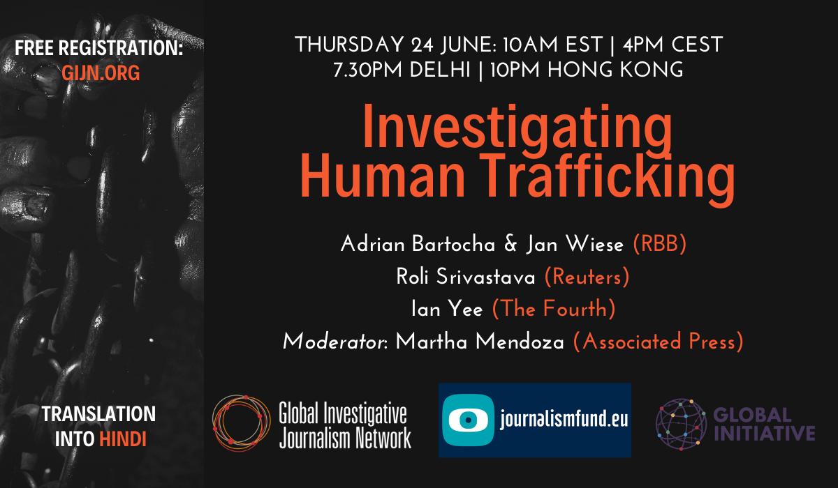 webinar Investigating Human Trafficking