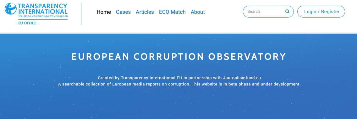 European Corruption Observatory
