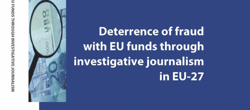 Deterrence of fraud with EU funds through investigative journalism in EU-27